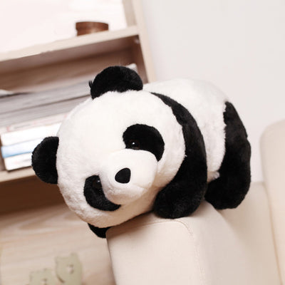 1PC 25cm Height Baby Kids Children Party Gifts Cartoon Aniamls Panda Plush Stuffed Toys For Boys Girls Cute Dolls 2018  UpCube- upcube