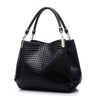2018 Designer Handbag Women Leather Handbags Alligator Shoulder Bags High Quality Hand Bag Bolsas Feminina Womens Bag Sac A Main