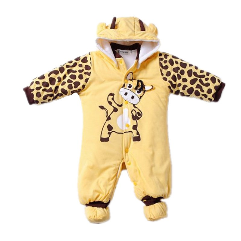 Autumn Winter Baby Boy Girl Hat Rompers Shoes Sets Newborn Layette Kids Clothes Suit Casual Tracksuit Jumpsuit Children Clothing