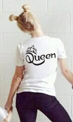 b5400317 New Summer King Queen Prince Princess Family Matching Outfits Women Men Boy  Girl clothes Cotton Family