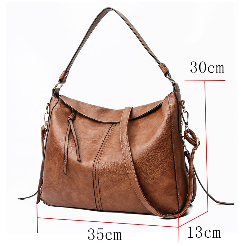 luxury handbags women shoulder bag large tote bags hobo soft leather ladies crossbody messenger bag for women 2018 Sac a Main