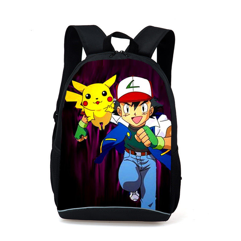 00280a94a1 New Fashion Game Pokemon Backpack Anime Pocket Monster School Bags For  Teenagers Gengar Bag PU Leather