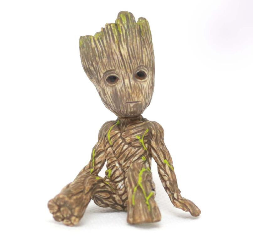Hote Cute Guardians of the Galaxy 2 Groot  Statue Figure Collectible Model Toy 9 Types Children Gifts