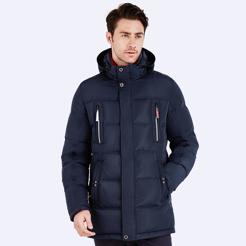 ICEbear 2016 Bio Down New Brand High Quality Jacket Men Winter Fashion Warm Regular Parkas And Coats Hooded 16MD893