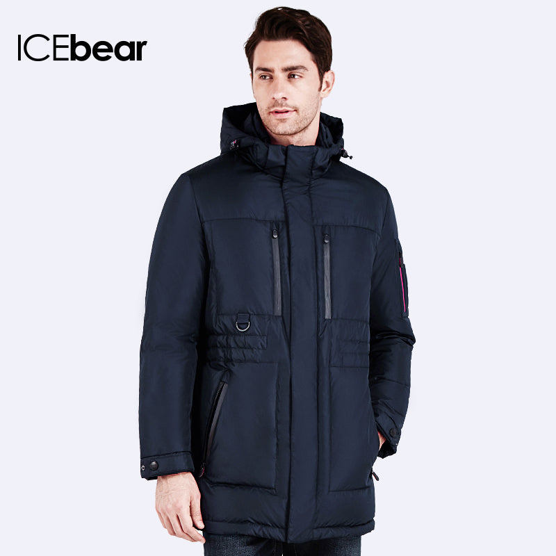 ICEbear 2016 Brand Clothing Jacket Fashion Thick Casual Cotton Coat Winter Jacket Men Wram Men Winter Parka 16MD908