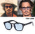 JackJad 2017 New Fashion Johnny Depp Round Style Tint Ocean Lens Sunglasses Brand Design Party Show Sun Glasses Oculos De Sol