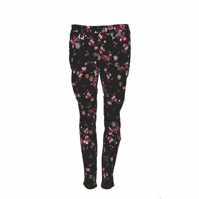 GUESS By Marciano Chinese Print Skinny Jeans
