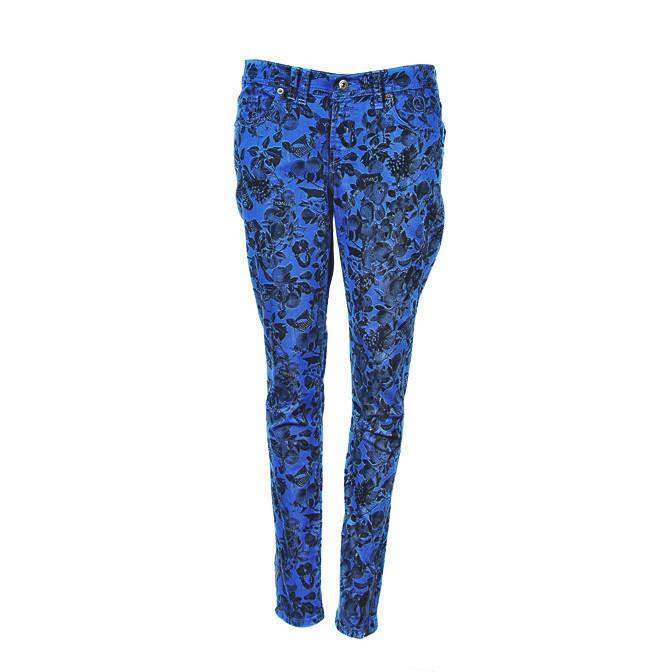 Bench Floral Printed Skinny Jeans