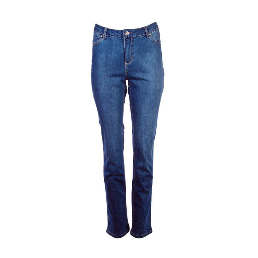 BUFFALO Mid-Rise Straight Leg Stretch Jeans