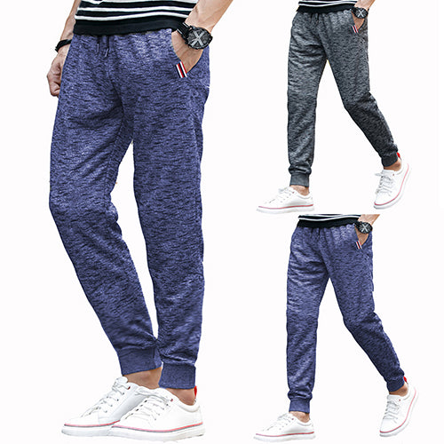 Men's Fashion Soft Loose Drawstring Long Pants Trousers Sweatpants
