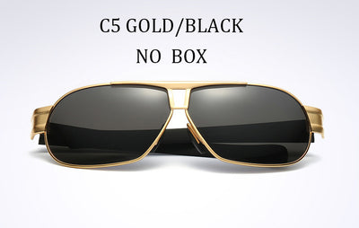 055b7f3fea2 NEW LVVKEE Luxury Brands ALLOY HD Polarized glasses Blu-ray Men Driver  Mirror sunglasses Polaroid