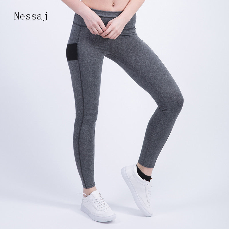 0968abab39 Nessaj Women's Sexy Leggings Fitness High Waist Elastic Comfortable Super  Stretch Women Leggings Workout Leggins Trousers