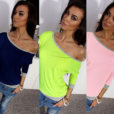New Hot Sale Fashion Womens Clothing Outwear Outfits Casual Pullover Blouse Loose Cotton Top Spring Summer