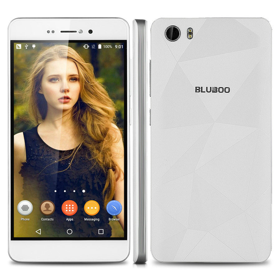 Original Bluboo Picasso Smartphone 5.0 Inch 1280*720 MTK6580 Quad Core Android 5.1 Phone 2GB RAM 16GB ROM GSM WCDMA Mobile Phone