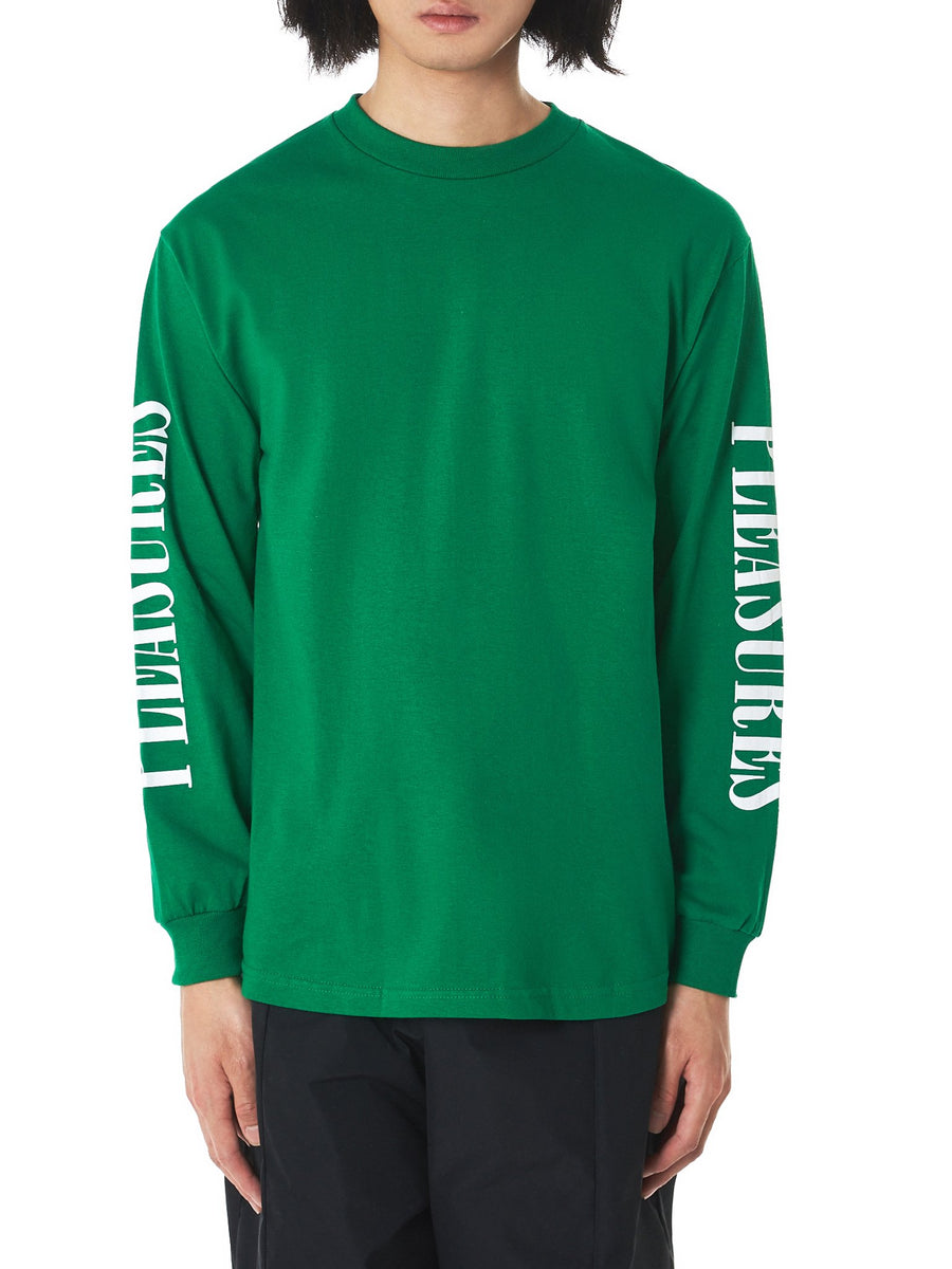 'Mark Of The Beast' Long Sleeve Tee (P18S101024-KELLY-GREEN) - upcube