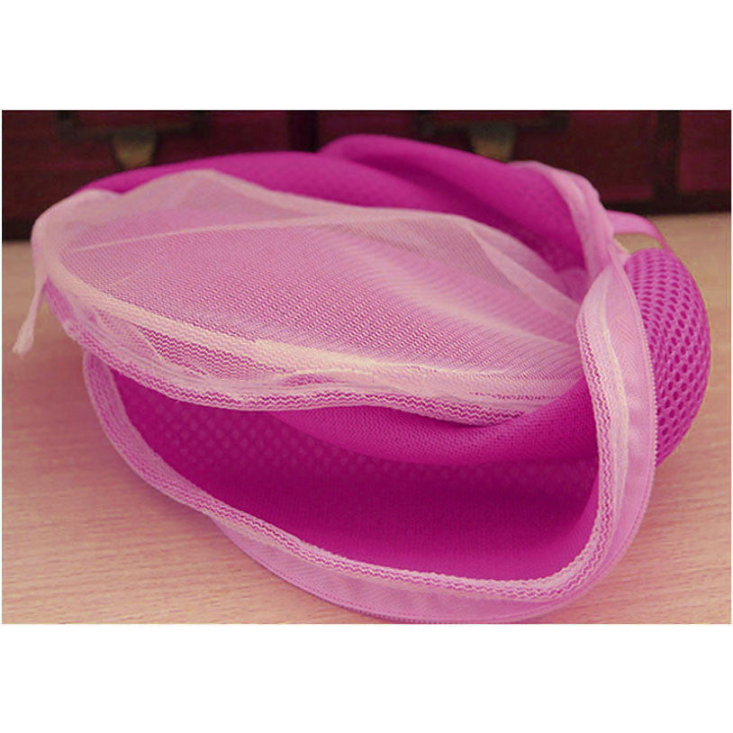 Quality First Women Bra Laundry Bags Lingerie Washing Hosiery Saver Protect Aid Mesh Bag Cube fashion pastoral style UY