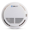 SUNLUXY Fire Smoke Sensor Detector High Sensitivity Wireless Alarm Home Store Shop Indoor Smoke Detector Security System