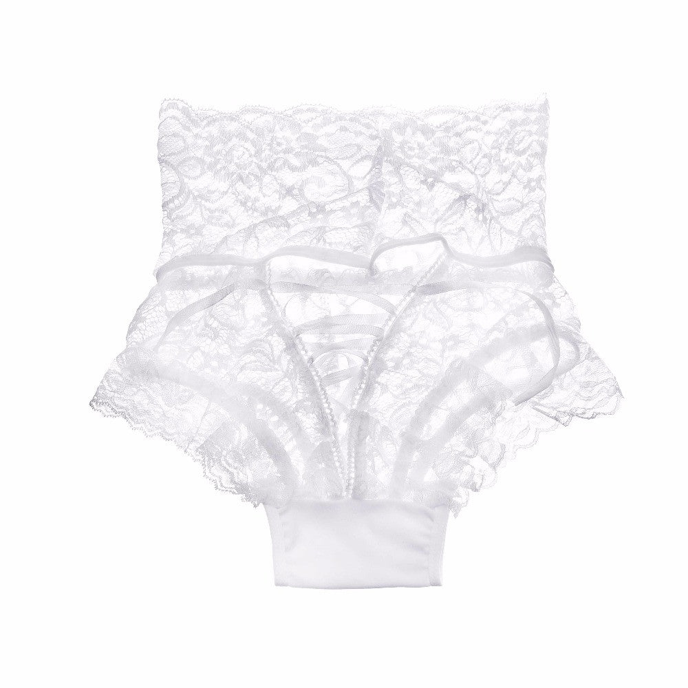 84afe8676 Sexy Lace Underwear Women Fashion High-Rise Ladies Thongs and G Strings  Straps Hollow G