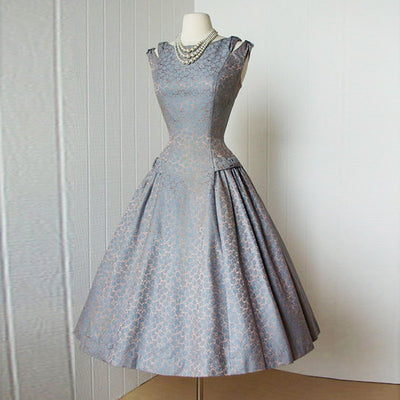 81eed61c3d422 Sisjuly 1950s vintage dress spring party style elegant dresses with lace  a-line o-neck dresses sleeveless female vintage dress