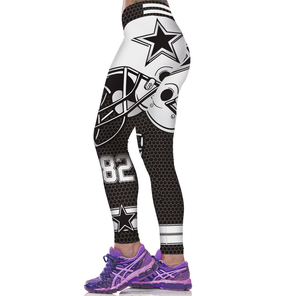 b9d5bb0bf Sporting Pants Women 3D Printed CowboysWorkout Leggings Fitness Clothing  Leggins Legins Calzas Deportivas Mujer Fitness Jeggings