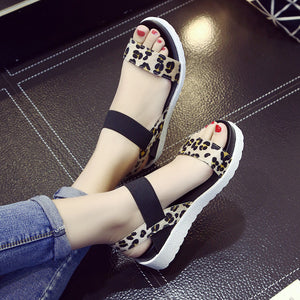 Summer shoes Hot Selling sandals women 2017 peep-toe flat Shoes Roman sandals Women shoes sandalias mujer sandalias high quality