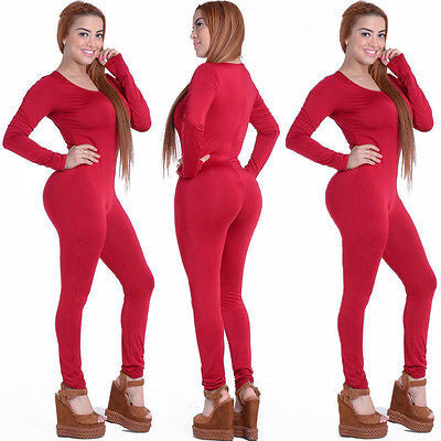 4bb379b860b Tight Bodysuit Sexy Overalls Night Club Rompers Womens Jumpsuit Playsuit  Bodycon Jumpsuit Macacao woman 2016 long
