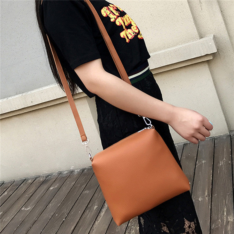 4PCS Bag Set Women Shoulder Messenger Bags Vintage Handbags Top-handle Leather Crossbody Bags 4 Composite Bag Casual Totes 2017