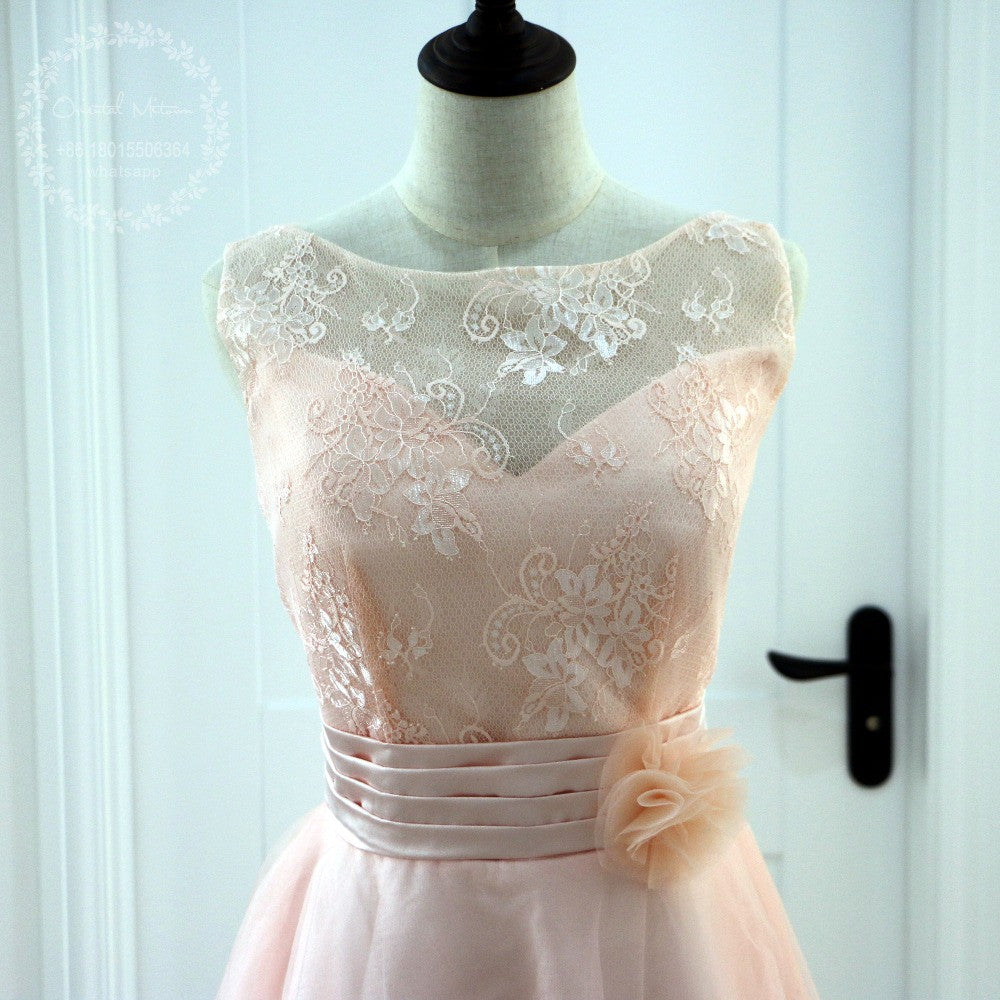 c7efcdebb63 Blush And Lace Bridesmaid Dresses - Gomes Weine AG