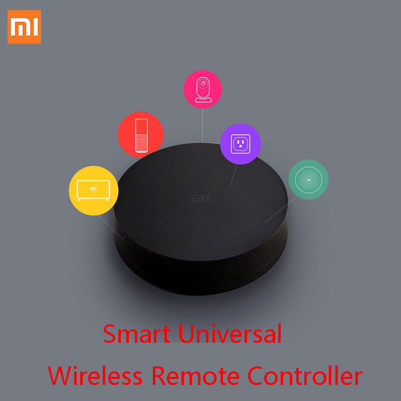 Xiaomi Mi Universal Smart Remote Controller Home Appliances WIFI+IR Switch 360 Degree Smart for Air Conditioner TV DVD Player