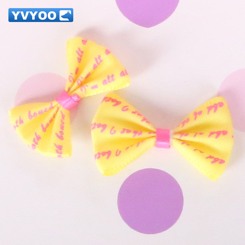 Yvyoo Beautiful Pet Dogs Hair Accessories Colorful Hair Clips Teddy Do