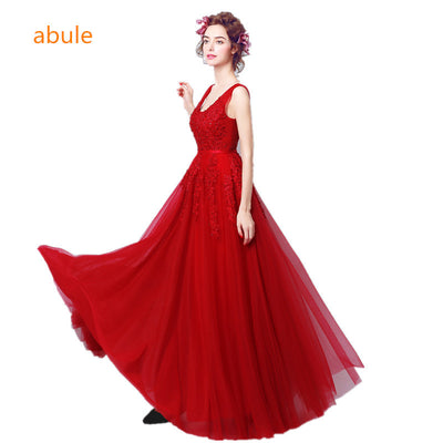 9bc56d4c3b3 abule 2017 V-neckline fishtail red lace wedding dress Band New mermaid  wedding gown Lace
