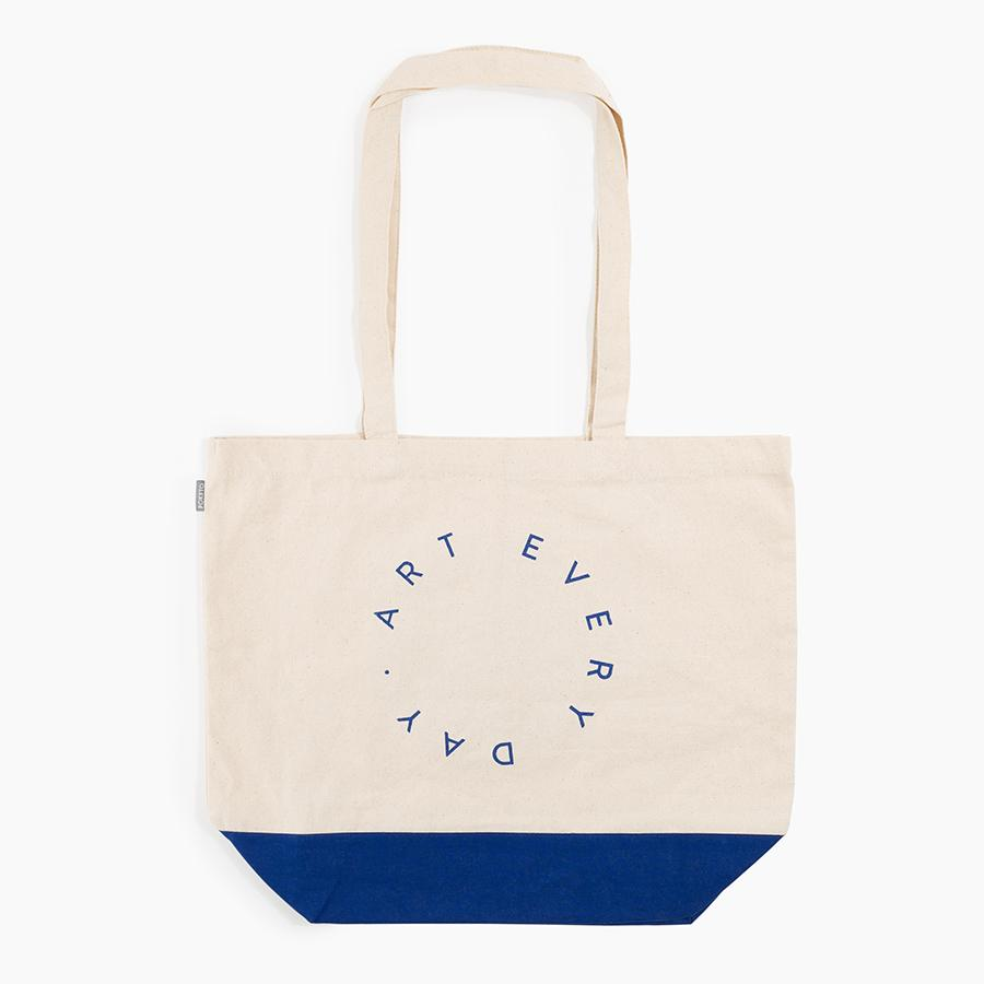 #10607 - Art Every Day Tote in Cobalt - upcube