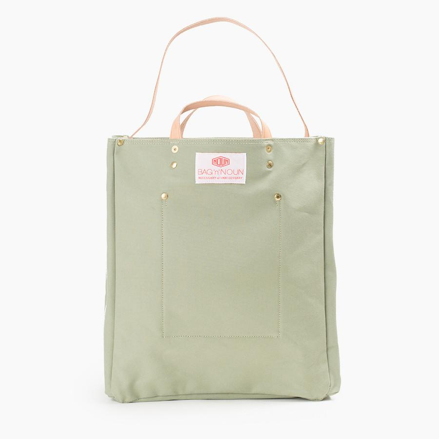 Bag n Noun Tool Bag with Leather Strap in Sage