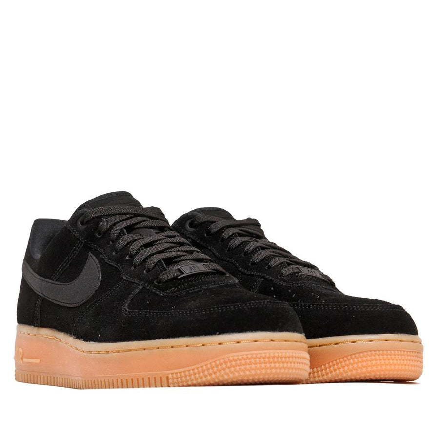 timeless design 45b1e c966c Nike Air Force 1 07 LV8 Suede Black
