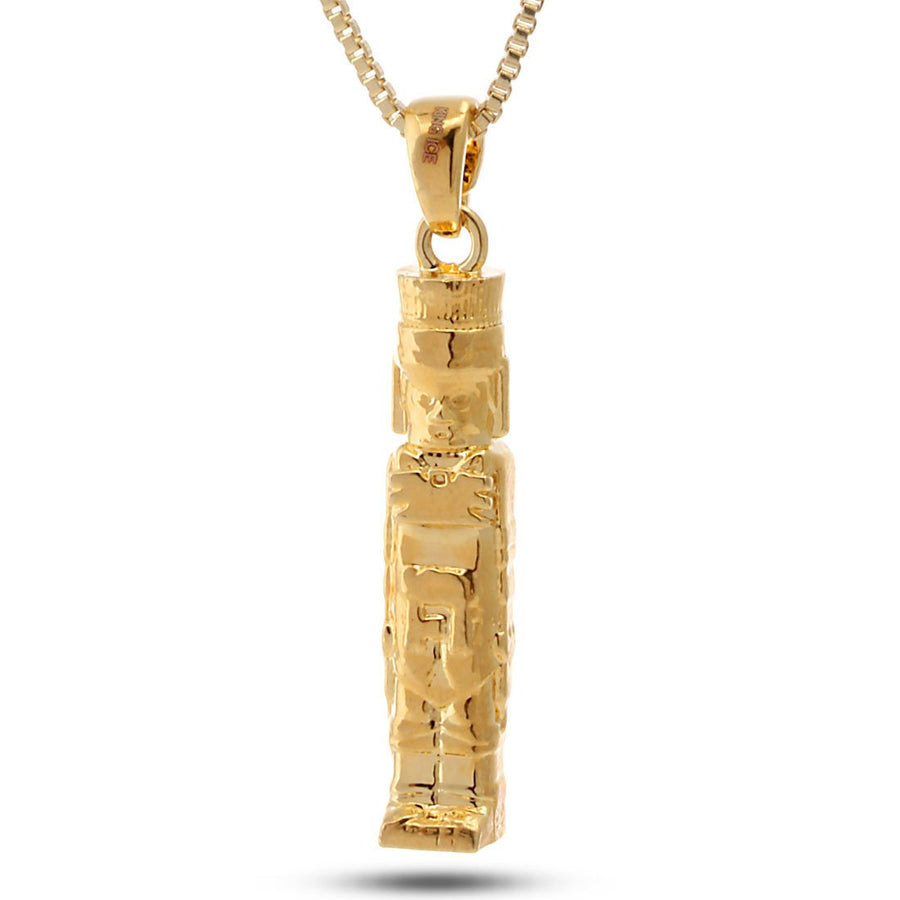 14K Gold Toltec Necklace - upcube