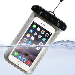 100% Sealed Waterproof Bag Case Pouch Durable Water proof Underwater Cover Case For iPhone 7 6/6 Plus Samsung Galaxy S6 S5 S4
