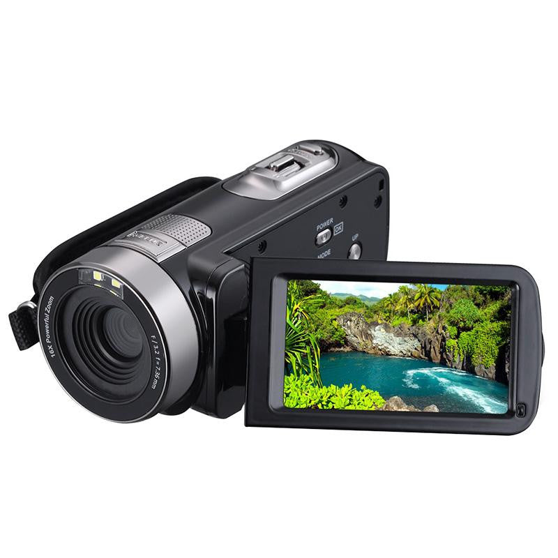 1080P Night Vision Digital Camera Recorder Camcorder DV DVR 3.0'' LCD 16x Zoom Digital Cameras