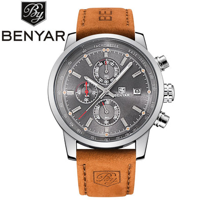 BENYAR Fashion Chronograph Sport Mens Watches Top Brand Luxury Quartz Watch Reloj Hombre 2016 Clock Male hour relogio Masculino  dailytechstudios- upcube