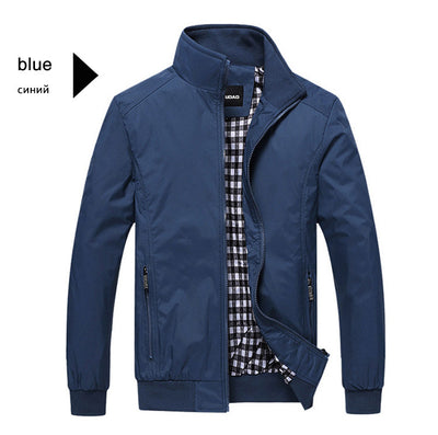 New 2016 Jacket Men Fashion Casual Loose  Mens Jacket Bomber Jacket Mens jackets and Coats Plus Size 4XL 5XL