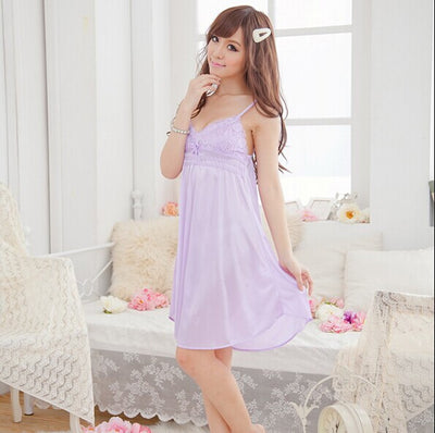 Lady Sexy Lingerie Lace Babydoll Dress Women's Underwear Sleepwear Chemise