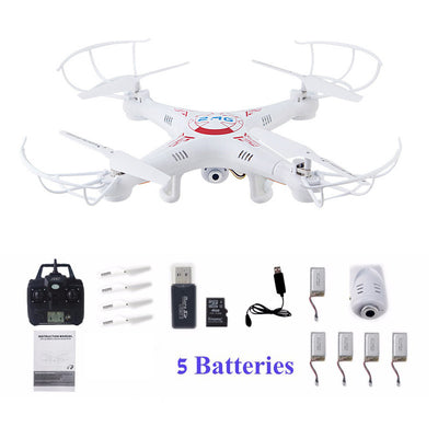 X5C -1 Quadcopter Drones With Camera HD Quadrocopter RC Helicopter Profissional Dron 2.4G 6 axis Helicoptero
