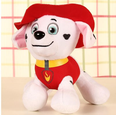 20-30cm Canine Patrol Dog Toys Russian Anime Doll Action Figures Car Patrol Puppy Toy Patrulla Canina Juguetes Gift for Child  dailytechstudios- upcube