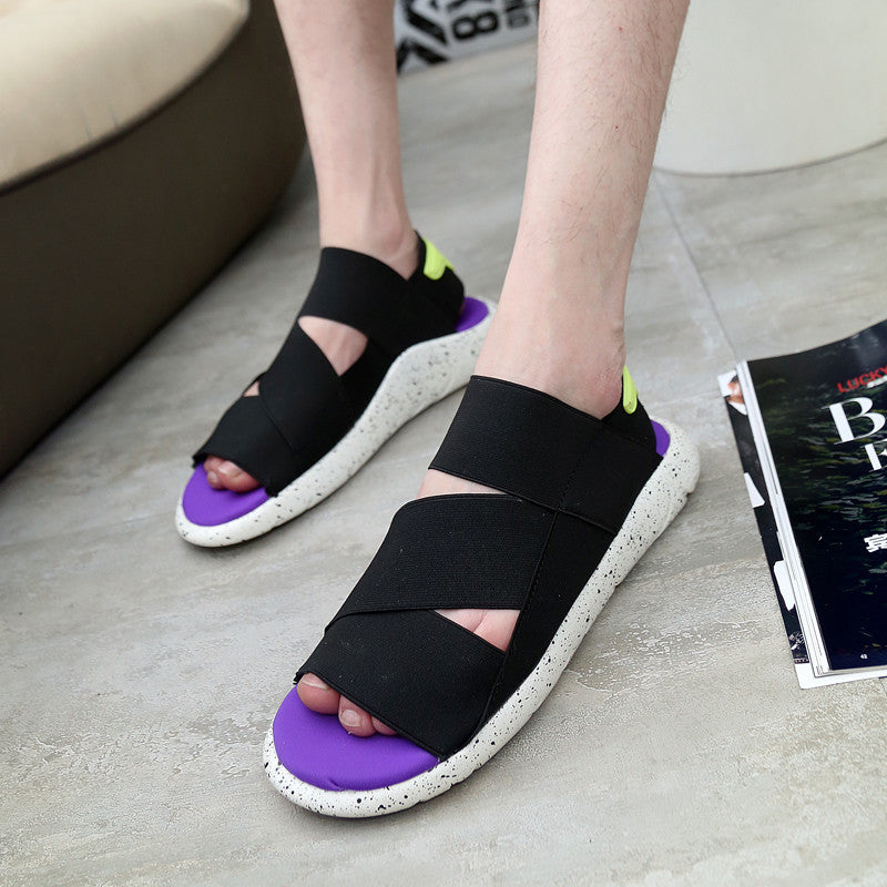 8b790c797 ... 2016 new fashion y3 sandals kaohe sandals indoor men alippers open toed  leather sandals men