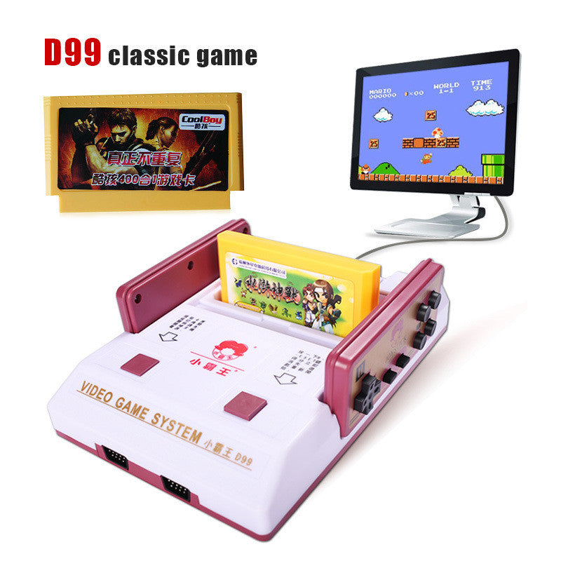 High-quality Retro classics Video Player video game consoles + 400 games play card + original card two card TV game player