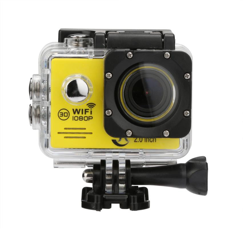2 inch Screen  WIFI Waterproof 1080P HD Camera For Sport DV Pro Camcorder Camera With Camera Waterproof Case Gift HOT Sale #201  dailytechstudios- upcube