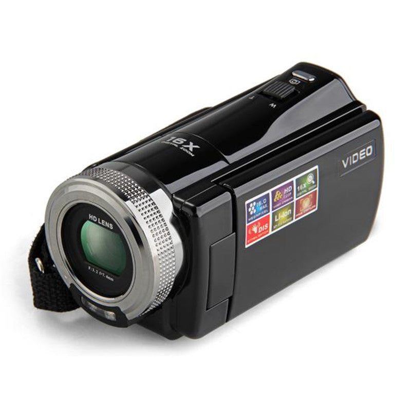 "2.7"" TFT LCD 16MP Digital Camera HD 720P Photo Video Camcorder 16X Zoom Anti-shake DV LED Fill Light Non-touch Cheap Camera"