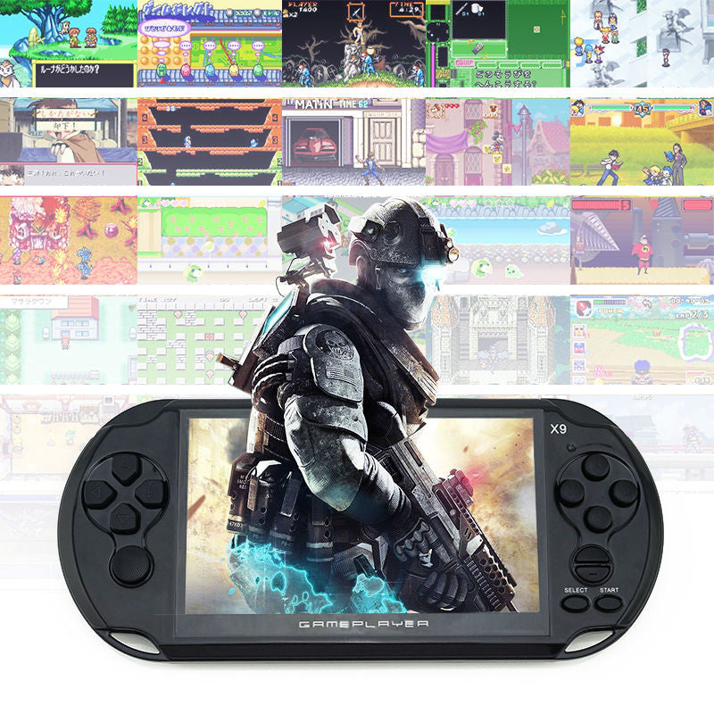"Handheld Game For GBA Games Consoles Built-in 3000 Classic NES Games MP5 Child Game Console With 5.0"" Screen 8GB Portable"