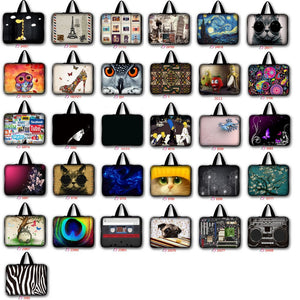 7 9.7 10 10.1 11.6 12 13 13.3 14 14.4 15 15.6 17 17.3 inch laptop bag netbook sleeve case handbag notebook cover pouch LB-ALL1