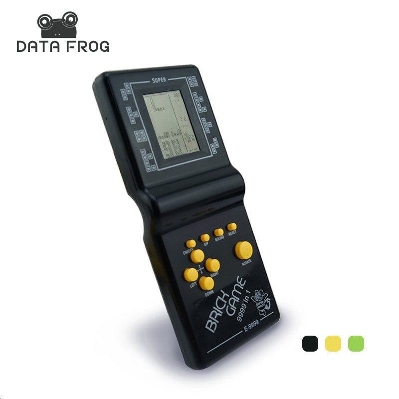 Retro Classic Childhood Tetris Handheld Game Players LCD Electronic Games Toys Game Console Riddle Educational Toys