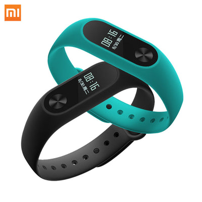 Xiaomi Mi Band 2 Wristband Bracelet Smartband OLED display touchpad Smart Heart Rate Fitness OLED Screen Miband2